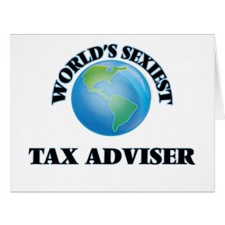 El consejero del impuesto más atractivo del mundo tarjetón