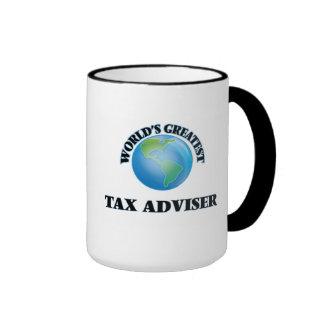 El consejero del impuesto más grande del mundo taza