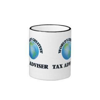 El consejero del impuesto más grande del mundo taza de café