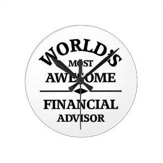 El consejero financiero impresionante del mundo relojes