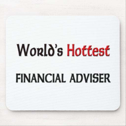 El consejero financiero más caliente de los mundos alfombrilla de ratón