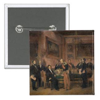 El Consejo de Ministros en la firma de Tuileries Pins