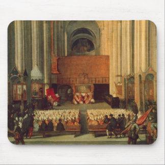 El consejo de Trent, el 4 de diciembre de 1563 Tapete De Ratones