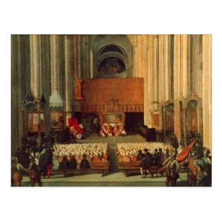 El consejo de Trent, el 4 de diciembre de 1563 Tarjetas Postales