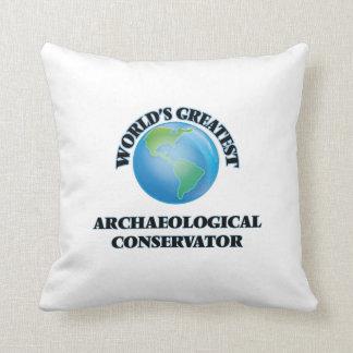 El conservador arqueológico más grande del mundo cojines
