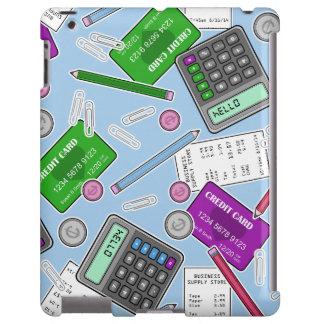 El considerar/modelo temático del contable funda para iPad