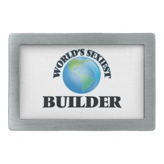 El constructor más atractivo del mundo hebilla cinturon rectangular