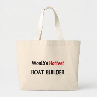 El constructor más caliente del barco de los mundo bolsa tela grande