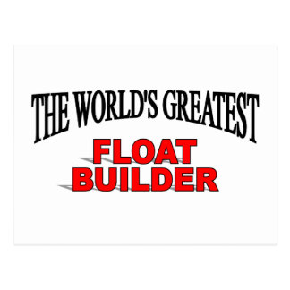 El constructor más grande del flotador del mundo postales