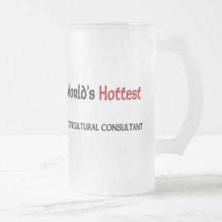 El consultor hortícola más caliente de los mundos taza de café