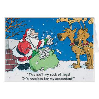El contable de Santa acusa recibo de tarjetas de N