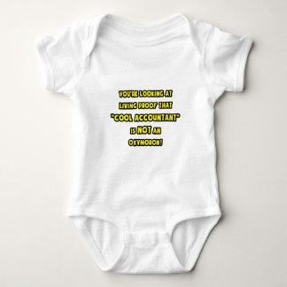 El contable fresco no es un Oxymoron Body Para Bebé