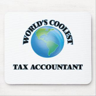El contable más fresco del impuesto del mundo tapetes de raton