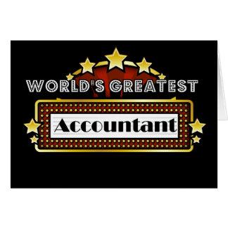 El contable más grande del mundo tarjeton