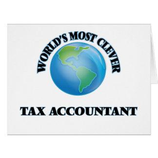 El contable más listo del impuesto del mundo tarjeton