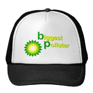 El contaminador más grande de BP Gorro De Camionero