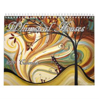 El contemporáneo caprichoso contiene el calendario