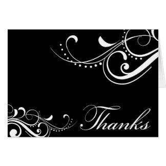 El contemporáneo le agradece cardar tarjeta de felicitación