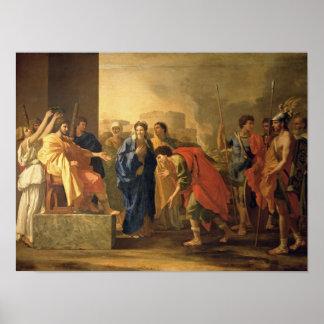 El Continence de Scipio, 1640 Póster