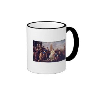 El Continence de Scipio 1643 Taza De Café