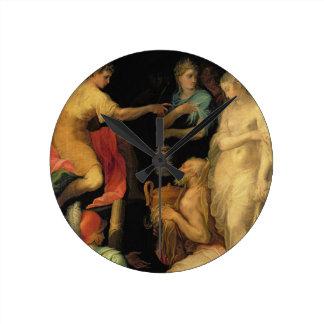 El Continence de Scipio importante (237-183 A.C.)  Reloj Redondo Mediano