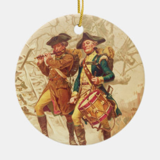 El Continentals de Frank Blackwell Mayer 1875 Adorno Redondo De Cerámica