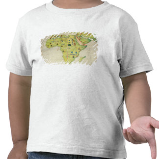 El continente de África Camiseta
