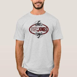 El continuar con el logotipo T de Jones Playera