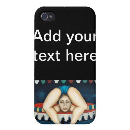 el contorsionista, añade su texto aquí iPhone 4/4S funda