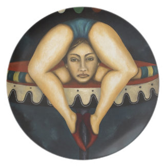 El contorsionista plato