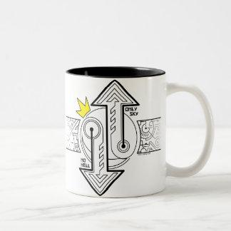 El contrapeso (taza)