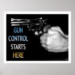 El control de armas comienza aquí poster