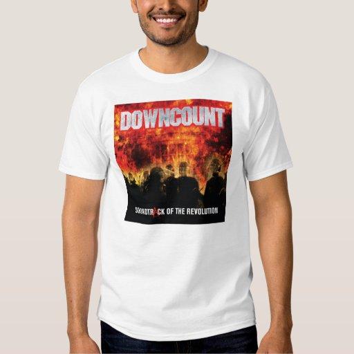 El control de armas de DOWNCOUNT es una camisa