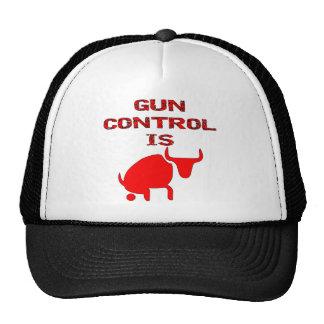 El control de armas es Bull Gorra