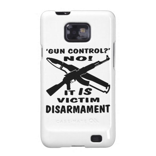El control de armas es desarme de la víctima galaxy SII carcasa