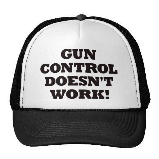 ¡El control de armas no funciona! Gorra