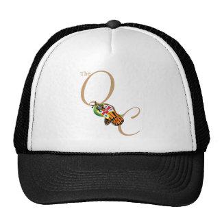 El control de calidad (oro) gorras