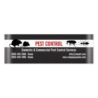 El control de los bichos del parásito personaliza plantilla de tarjeta de negocio