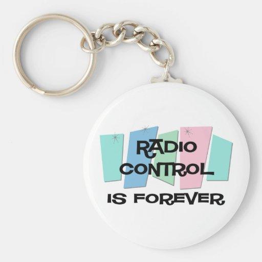 El control de radio es Forever Llavero Personalizado