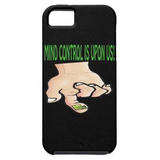 El control mental está sobre nosotros iPhone 5 funda