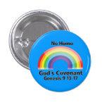 El convenio de ningún dios del homo pin