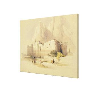 El convento de St. Catherine, monte Sinaí, Februar Lienzo Envuelto Para Galerías