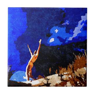 El convocar (original vendida - edición limitada 3 azulejo cuadrado pequeño