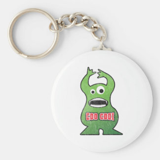 El Coo Cooi - Monster Basic Round Button Keychain