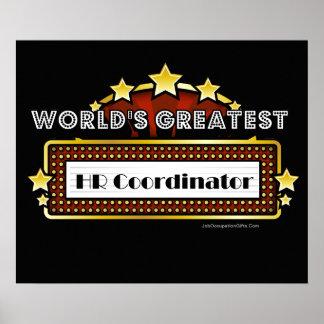El coordinador más grande de la hora del mundo póster