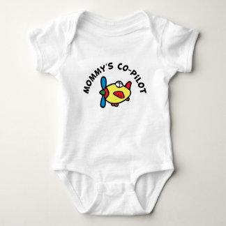 El copiloto de la mamá body para bebé