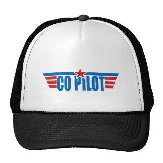 El copiloto se va volando la insignia - aviación gorras