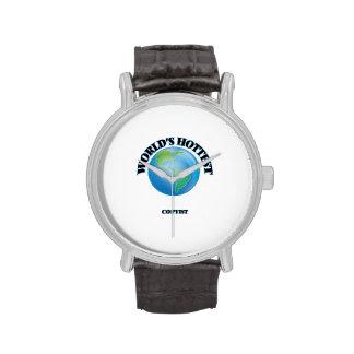 El Copyist más caliente del mundo Reloj De Mano