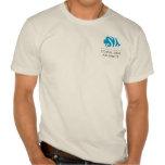El CORAL orgánico de los hombres Camisetas