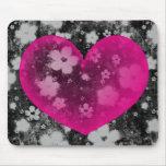 El corazón #1 de la tarjeta del día de San Valentí Tapete De Ratón